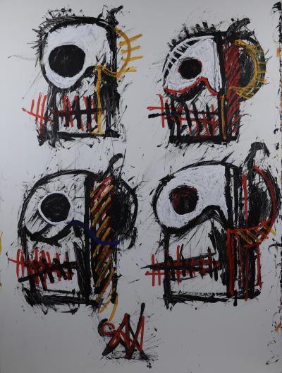 Sax Berlin Skulls Mortality