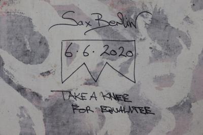 Sax Berlin Take A Knee For Equalitee