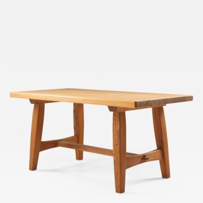 Scandinavian Coffee Table in Pine by Krogen s