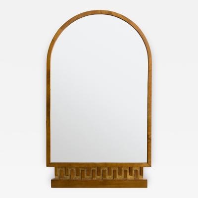 Scandinavian Modern Meander Mirror Art Deco
