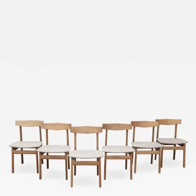 Scandinavian Modern Oak Dining Chairs