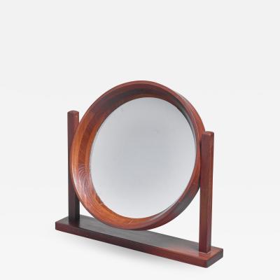 Scandinavian Modern adjustable table or vanity mirror 1960s