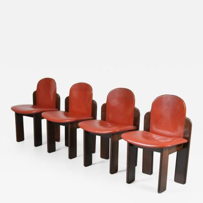 Scarpa style dining chairs Italy 1970