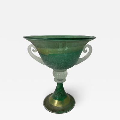 Scavo Murano Glass Urn by Gambaro