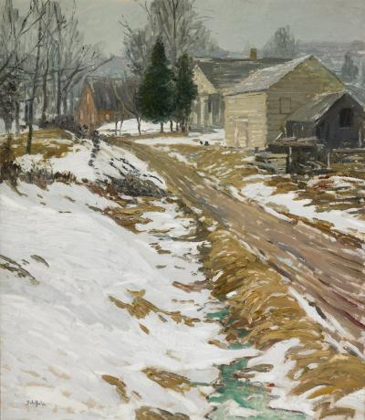 Walter Elmer Schofield Frosty Morning