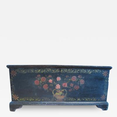 Schoharie County Painted Blanket Chest