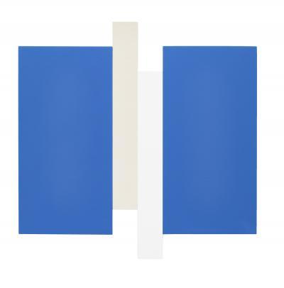 Scot Heywood Arupa Blue White Canvas