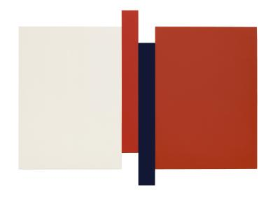 Scot Heywood Arupa Red Blue Canvas
