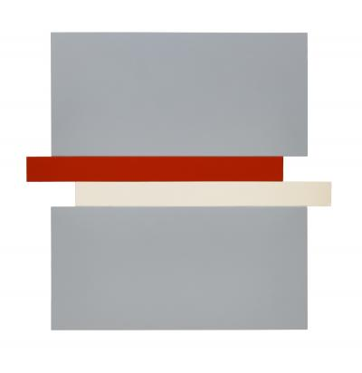 Scot Heywood Compression Gray Red Canvas