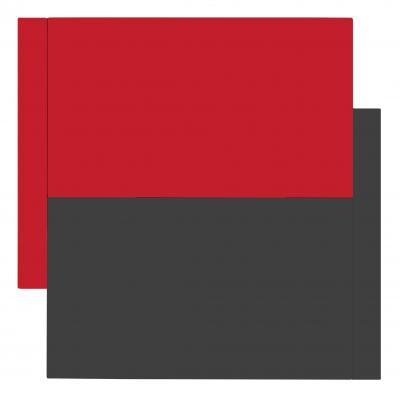 Scot Heywood Shift Red Gray