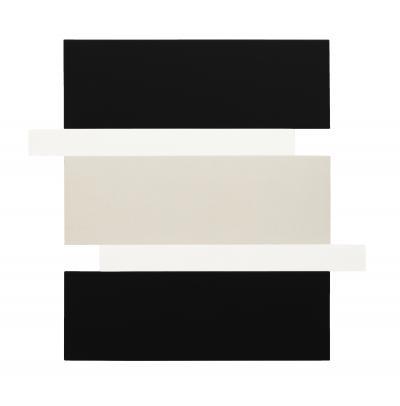 Scot Heywood Stack Black White Canvas