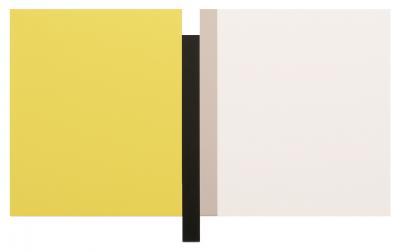 Scot Heywood Sunyata Yellow White Black Canvas