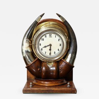 Scottish Horn Clock