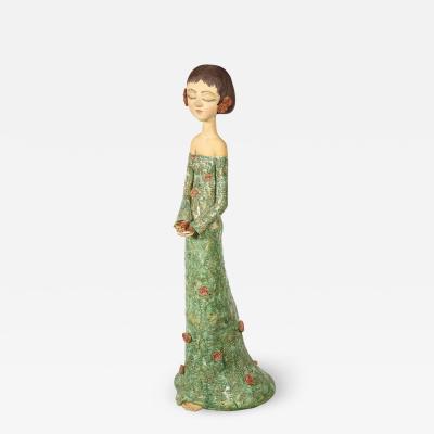 Sculpted Ceramic Girl