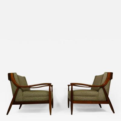 Sculptural Craft Lounge Chairs