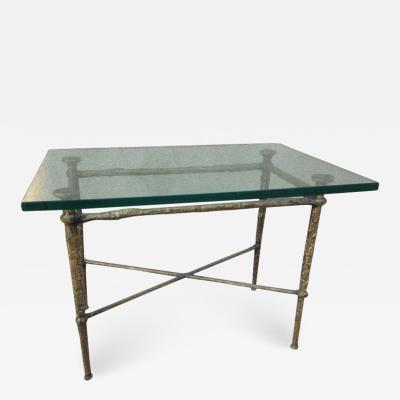 Sculptural French Bronze Cocktail Table
