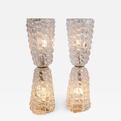 Sculptural Glass Blown Table Light
