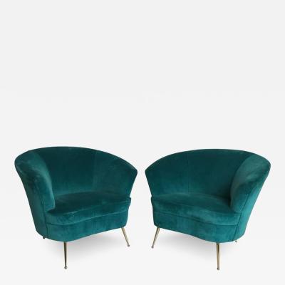 Sculptural Italian Chairs