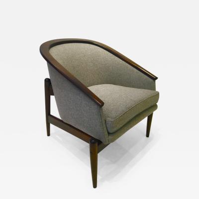 Sculptural Mid Century Modern American Chair