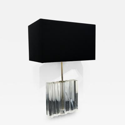 Sculptural Single Table Lamp