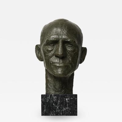 Sculpture Portrait of General Harald Petri