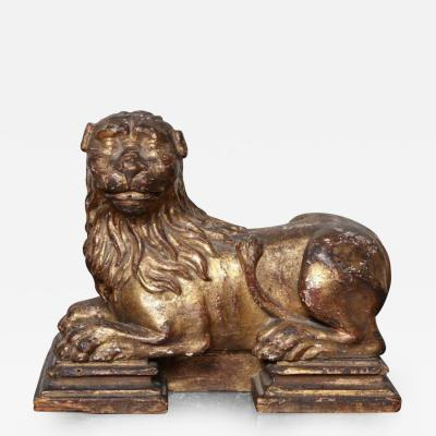 Sculpture of Recumbent Lion