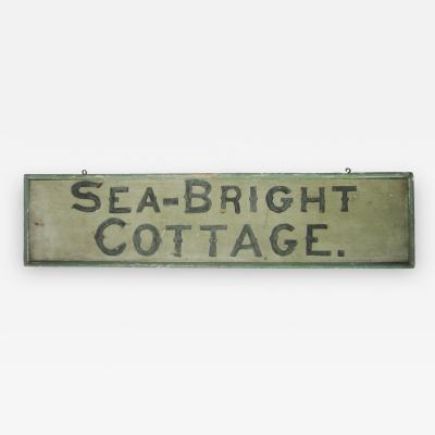 Sea Bright Cottage Signage