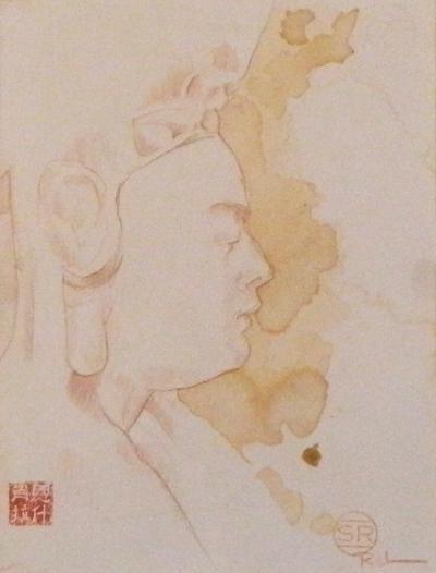 Sean Rush Study of Terracotta Buhhha