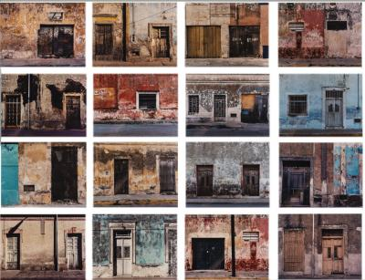 Sean Scully Sean Scully Merida Series of 16 photographs Signed 2001