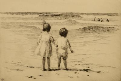 Sears Gallagher Children by the Shore