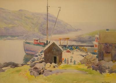 Sears Gallagher Monhegan Wharf