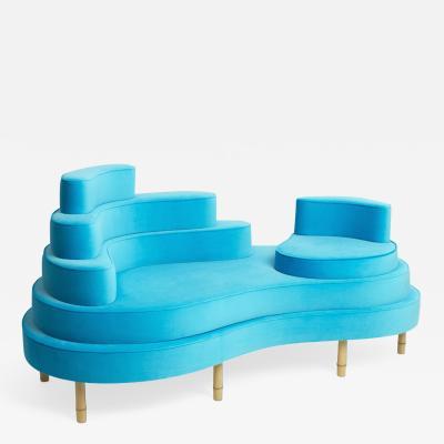Sebastian Menschhorn BATIKI chaiselongue an insular sofa or sofa islet