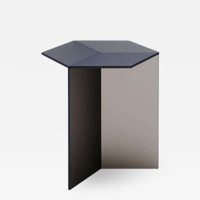 Sebastian Scherer Satin Glass Isom Tall Coffee Table Sebastian Scherer