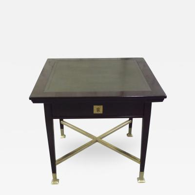 Secessionist Table with Synchronized Mechanical Trays