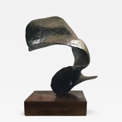 Seena Donneson Abstract Bronze Sculpture from the Oceania Series by Seena Donneson