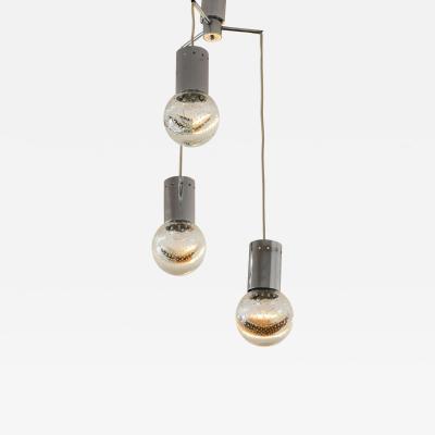 Seguso Vetri d Arte Seguso chandelier three diffusers