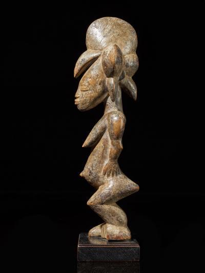 Senufo People Ivory Coast Standing Female Tugubele Divination Figure