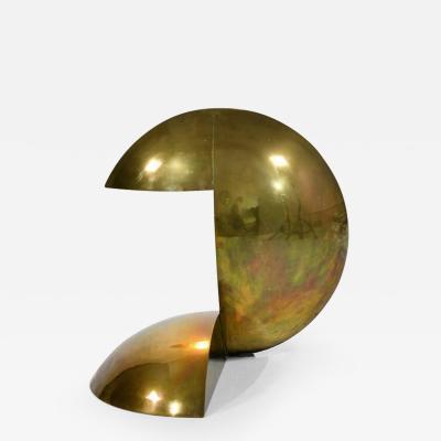 Serge Manzon Rare sculptural lamp