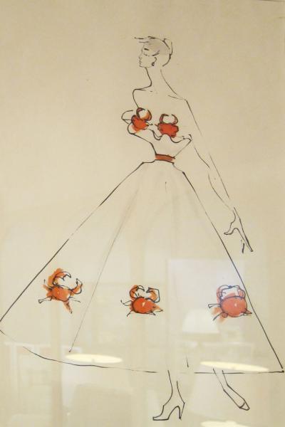 Serge Matta Fashion Drawings by Serge Matta