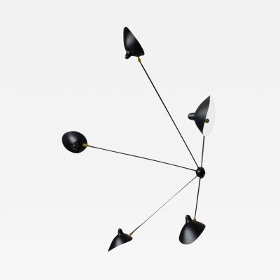 Serge Mouille Serge Mouille 5 Arm Spider Sconce