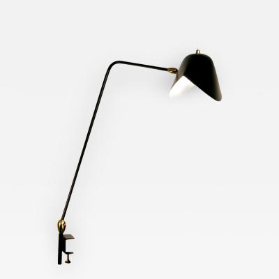 Serge Mouille Serge Mouille Agrafee Double Swivel Desk Lamp