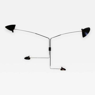 Serge Mouille Serge Mouille Black or White 4 Arm Rotating Sconce