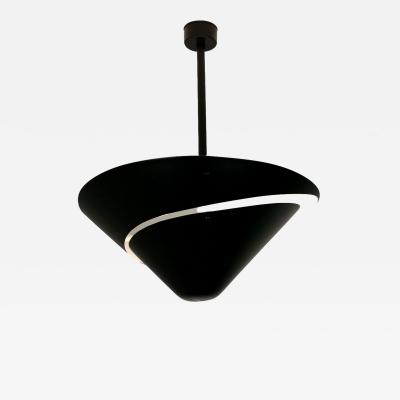 Serge Mouille Serge Mouille Black or White Small Snail Ceiling Lamp