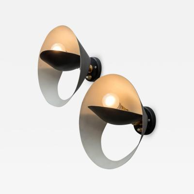 Serge Mouille Serge Mouille Petite Saturne Sconce Lights France 1950s