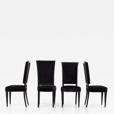 Serge Roche RARE SERGE ROCHE DINING CHAIRS SET OF 10