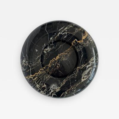 Sergio Asti Nero Portoro Marble Bowl by Sergio Asti for UP UP