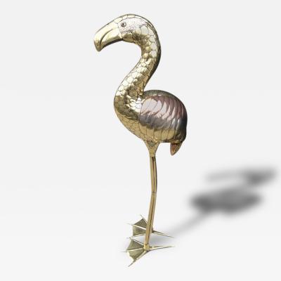 Sergio Bustamante Sergio Bustamante Flamingo Standing Sculpture