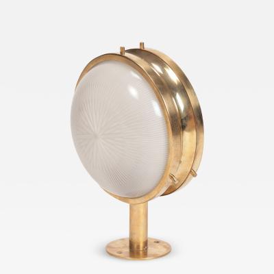 Sergio Mazza 1 Brass Sergio Mazza Gamma Wall Lamp 60s