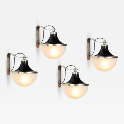 Sergio Mazza 1960s Sergio Mazza Pi Wall Lights for Artemide