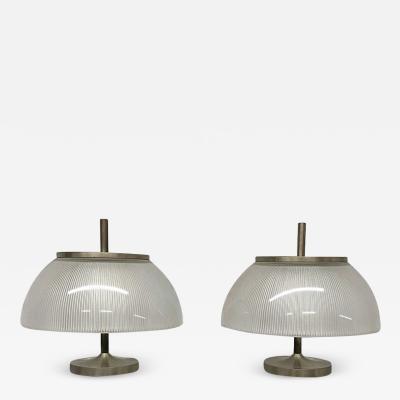 Sergio Mazza Alfetta table lamps by Sergio Mazza for Artemide 1966
